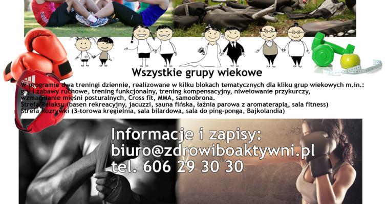 Letni obóz sportowo-rekreacyjny Olsztyn 18-25 sierpnia 2018